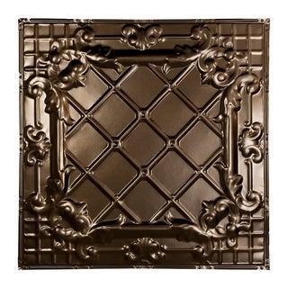 Great Lakes Tin Toledo Bronze Burst Nail-Up Ceiling Tile Carton of 5