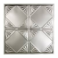 Great Lakes Tin Erie Clear 2-foot x 2-foot Lay-In Ceiling Tile (Carton of 5)