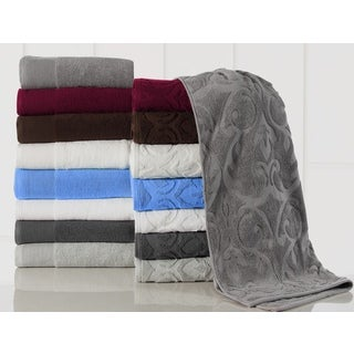 10-piece Elegance Spa Egyptian Cotton 600 GSM Jacquard Towel Set