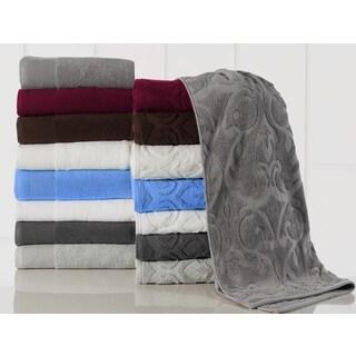 Elegance Spa Cotton 600 GSM Jacquard 10-piece Towel Set