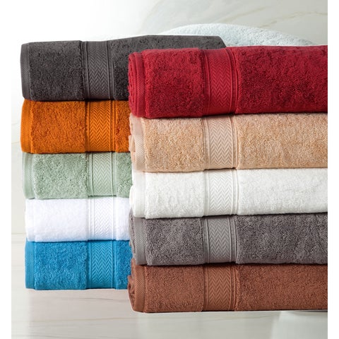 Pine Canopy Angeles Cotton 600 GSM 10-piece Towel Set