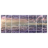 Ash Carl 'Calm Before the Storm' Metal Wall Art