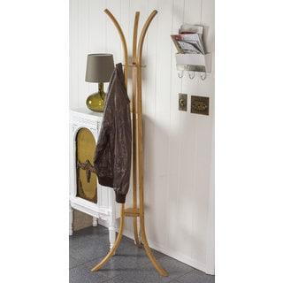 Tivoli Modern Bamboo Coat Rack