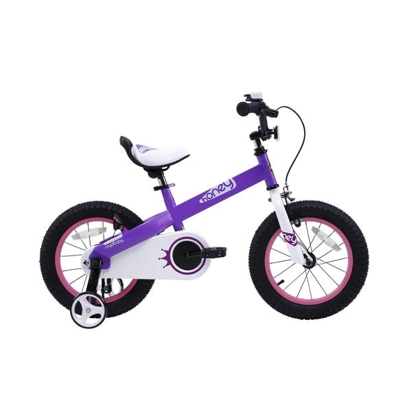 RoyalBaby Honey 12-inch Kids' Bike with Training Wheels