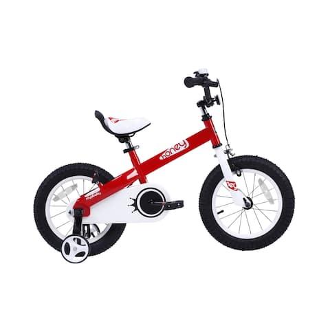 RoyalBaby Honey 16-inch Kids' Bike with Training Wheels