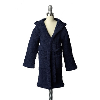 Kashwere Youth Navy Cover-Up Hooded Robe
