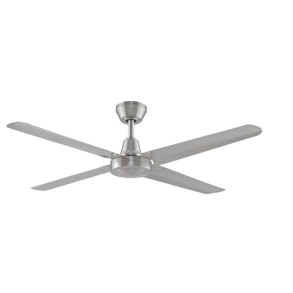 Fanimation Ascension 4 Blade Brushed Nickel Ceiling Fan