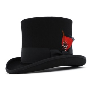 Ferrecci Men's Premium Wool Classic Top Hats (5 options available)
