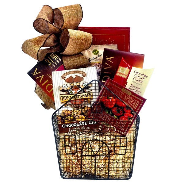 Fifth Avenue House of Chocolate Gift Basket