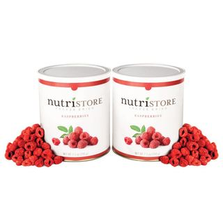 Nutristore Freeze-dried Raspberries 2-pack