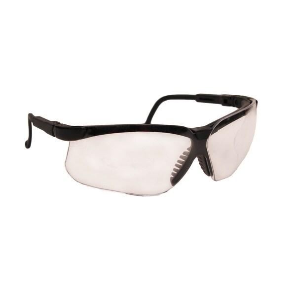 Howard Leight Genesis Black Frame, Anti-Fog Clear Lens