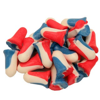Howard Leight USA Shooters Ear Plugs, 10 Pair Red/White/Blue