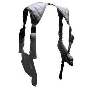 Leapers Inc. UTG Horizontal Shoulder Holster, Black