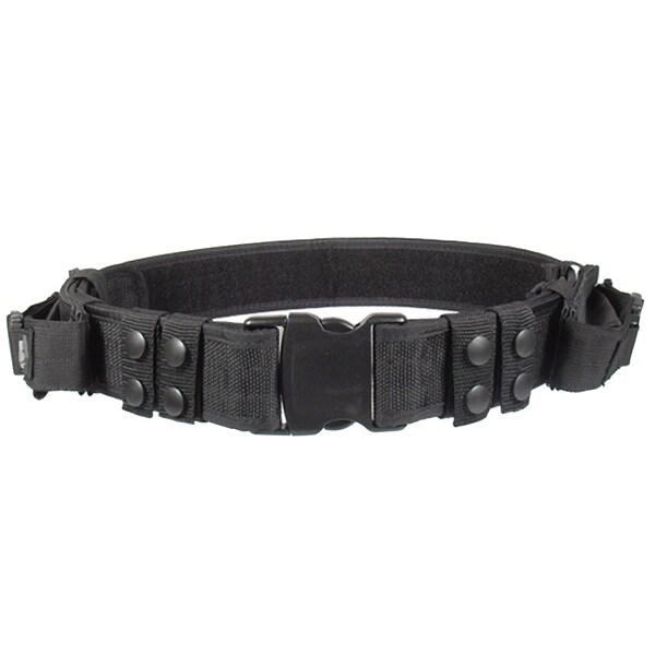 Leapers Inc. UTG Heavy Duty Elite Pistol Belt, Black