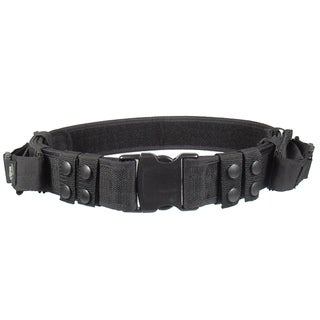 Leapers Inc. UTG Heavy Duty Elite Pistol Belt, Black