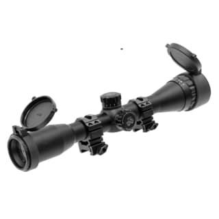 "Leapers Inc. 4X32 1"" True Hunter Scope QD Rings"