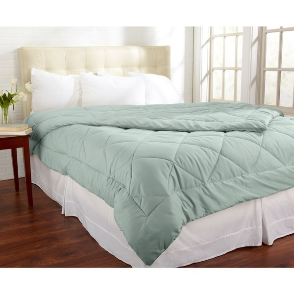 Shop home fashion designs santino collection all season luxury down alternative comforter free for Home design alternative comforter