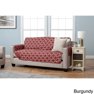 Home Fashion Designs Adalyn Collection Printed Reversible Sofa Protector (4 options available)