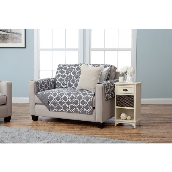 Home Fashion Designs Adalyn Collection Printed Reversible Love Seat Protector Free Shipping On