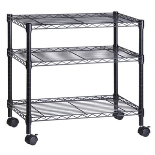 3-shelf Steel Cart