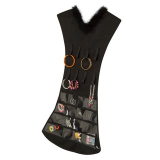 black dress jewelry organizer