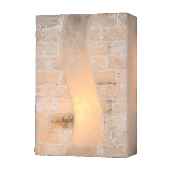 Metro Candelabra 2 Light Brass Finish Wall Sconce