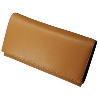 Castello Italian Leather Framed Clutch Wallet