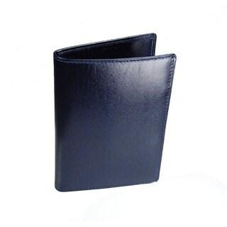 Castello Italian Leather Passport Wallet With RFID