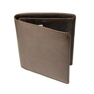 Castello Italian Oily Pull-Up Leather Bifold RFID Wallet