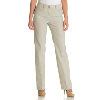 Episode Women's Stripe Crinkle Pant