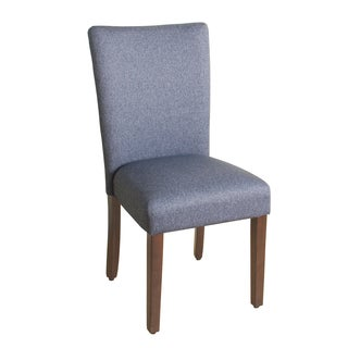 Aprilia Blue Upholstered Dining Chairs Set Of 2 Free Shipping Today Ove