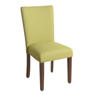 HomePop Textured Parson Dining Chair - Everly Green Cilantro - Single