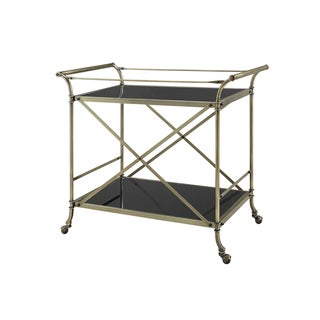 Powell Minerva Antique Brass Cart