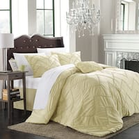 Chic Home Belvia Gold 5-piece Comforter Set