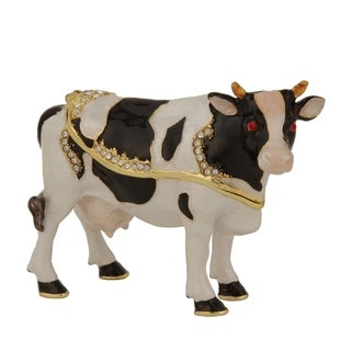 Califonia Cow Trinket Box