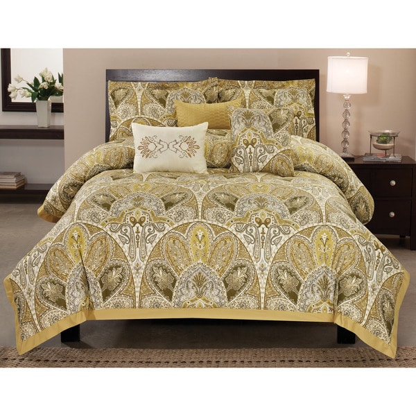 Amaretto Cotton 6-piece  Comforter Set