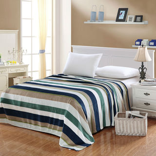 Multi Color Stripe Camessa Blanket