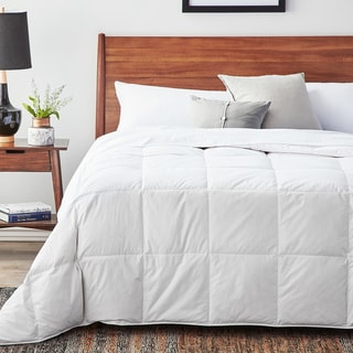 Woven All-season White Down Blend Comforter