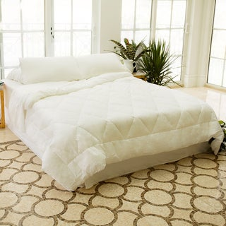 Woven Hypoallergenic Down Alternative Premium Comforter