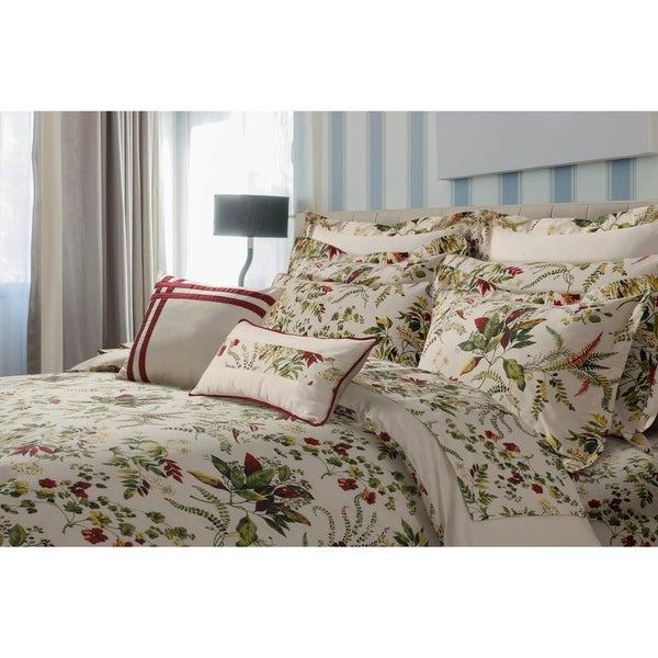 Maui Printed Floral Cotton Oversize 5-piece Duvet Cover Set