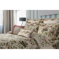Maui Printed Floral Cotton Oversize 5-piece Duvet Cover Set