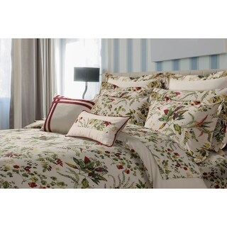 Maui Printed Floral Cotton Oversize 5-piece Duvet Cover Set (2 options available)