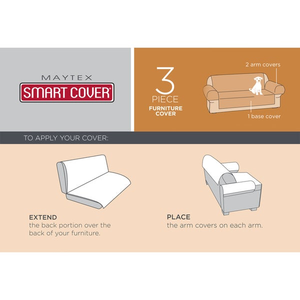 Maytex Reversible 3-piece Microfiber Recliner Pet Cover - Free Shipping On Orders Over $45 - Overstock.com - 17757727  sc 1 st  Overstock & Maytex Reversible 3-piece Microfiber Recliner Pet Cover - Free ... islam-shia.org