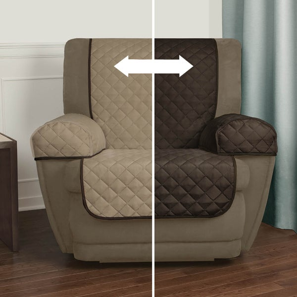 Maytex Reversible 3-piece Microfiber Recliner Pet Cover - Free Shipping On Orders Over $45 - Overstock.com - 17757727 & Maytex Reversible 3-piece Microfiber Recliner Pet Cover - Free ... islam-shia.org