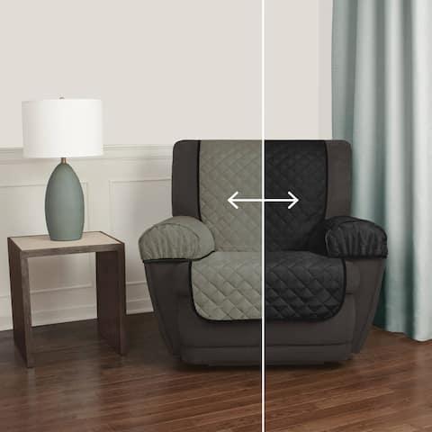 Maytex Reversible 3-piece Microfiber Recliner Pet Furniture Protector