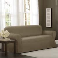 Maytex Torie 1-piece Stretch Sofa Slipcover