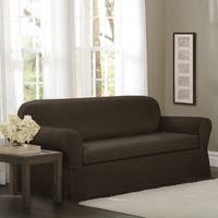 Maytex Torie 2-piece Stretch Sofa Slipcover