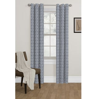 Maytex Metronorm Blackout Foam Back Curtain Panel Pair
