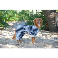 Fashion Pet Active Wear Striped Pajamas