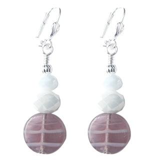Palmtree Gems 'Lily' Dangle Earrings